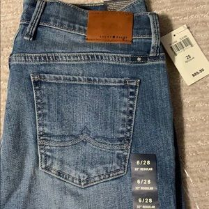 Lucky Brand Jeans - Lucky brand handcrafted jeans size 6 New 28w 32L